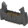 """2.54mm(.100"""") Shrouded Connector"""