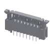 """2.54mm(.100"""")FFC/FPC Connector"""